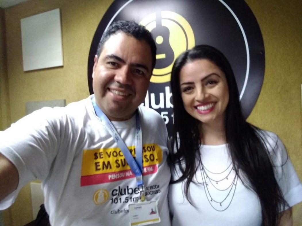 Cristiane Assumpção - Entrevista Rádio Clube FM - LUTO
